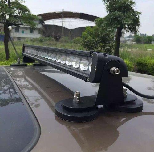 2pcssetpowerful-mount-bracket-sucker-holder-magnetic-base-f-roof-led-light-bar-offroad